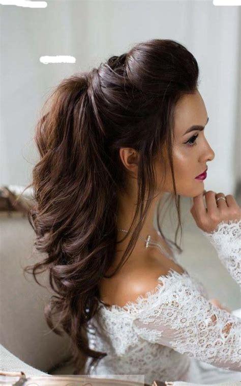 Half Up Half Down Long Bridal Hairstyle Modren Villa