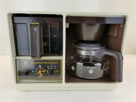 Zojirushi 5 cup coffee maker can brew 5 cups of coffee and comes with filter cone, which makes this easier and more compact to use. Vintage GE General Electric 8 Cup SpaceMaker Under Cabinet Coffee Maker -Tested   eBay
