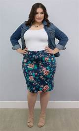 Womens plus size skirt
