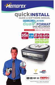 Memorex 8x Quick Install Manual Pdf Download