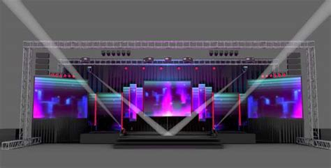 stage lighting simulator free stage design pack by holution 3docean