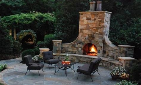 landscaping kits prefab outdoor fireplace kits do it
