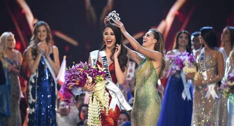 universe  winner philippines catriona gray wins