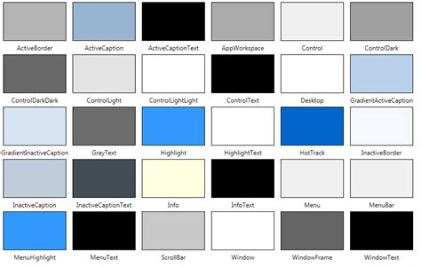 color system system colors 2 000 things you should about wpf
