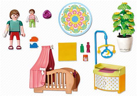 chambre de bébé playmobil playmobil 5334 chambre de bébé avec berceau achat