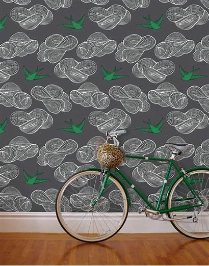 Daydream Grey Rothman Wallpapers Tapeta Hyggeandwest Hygge