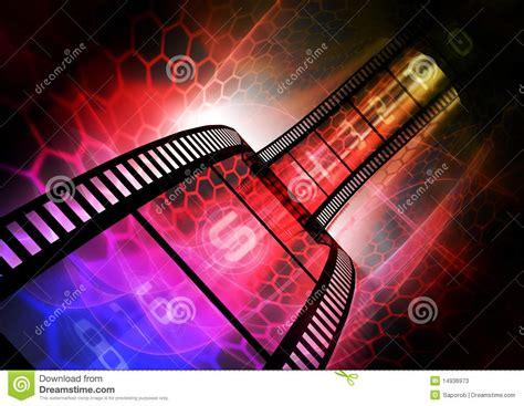 colorful film strip stock  image