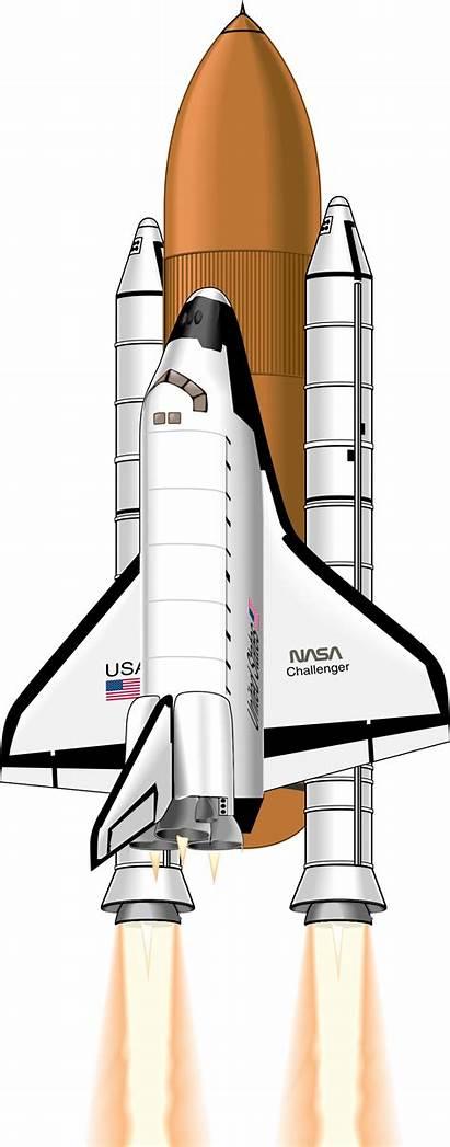 Shuttle Clipart Svg Rocket Nasa Clip Rocketship