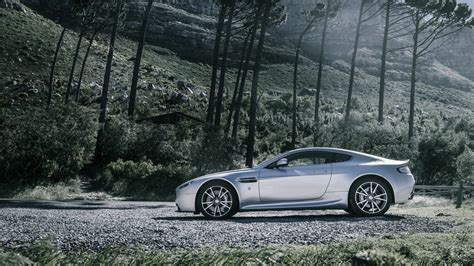 Wallpaper Aston Martin V8 Vantage, Sports Car, Aston