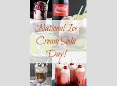 July 20 is National Ice Cream Soda Day!