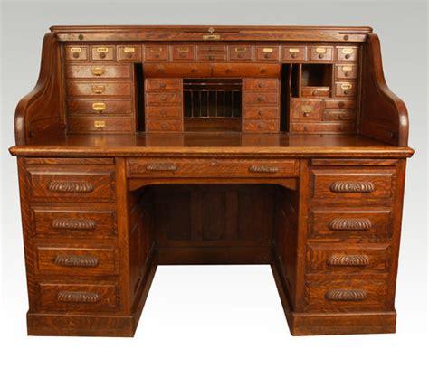 antique roll up desk oak roll top desk antiques atlas
