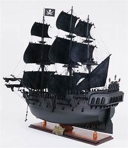 Black Pearl Wooden Pirate Ship Model | Tall Ships ...