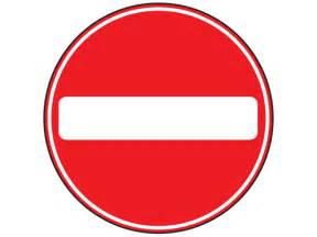 Image result for no entry sign