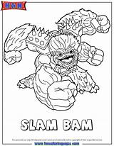Skylanders Coloring Skylander Bam Slam Trap Team Colouring Kleurplaten Imprimer Sheets Colorear Printable Giants Coloriage Header3 Fancy Ludinet Coloriages Sam sketch template