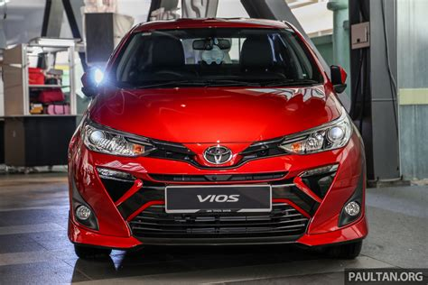 toyota vios launched  malaysia rmk rmk paul