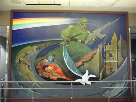Denver Airport Murals Conspiracy Theory by Top 5 Creepiest Conspiracy Theories