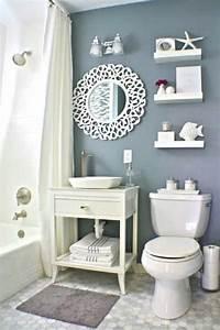 Badezimmer Deko Ideen : badezimmer deko ideen blau wohn design ~ Orissabook.com Haus und Dekorationen