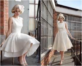 tea length wedding dresses for brides tea length wedding dress bridalmoment