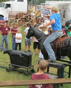 Mechanical Calf Roping and Horse