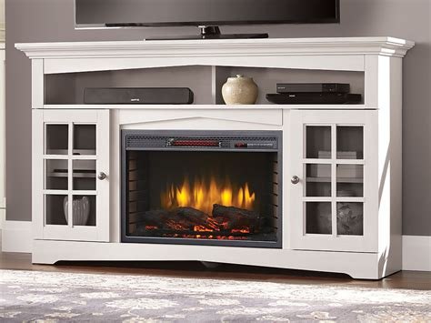 Huntley Tv Stand In White & 26