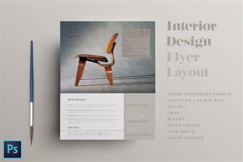 interior design flyer layout flyer templates creative