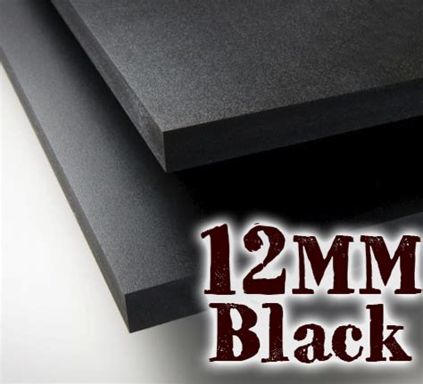 mm black pvc sheets