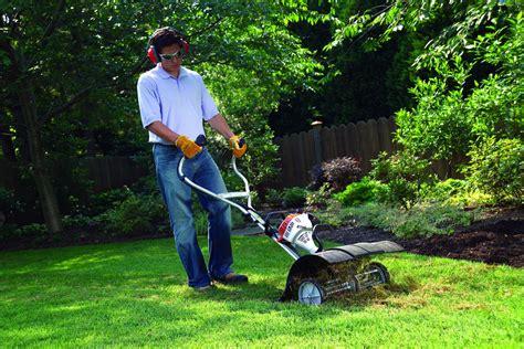 stihl yard boss tiller mm  sale garden tillers bps