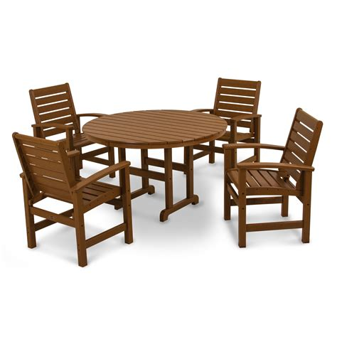 superb polywood dining sets 4 5 patio dining set