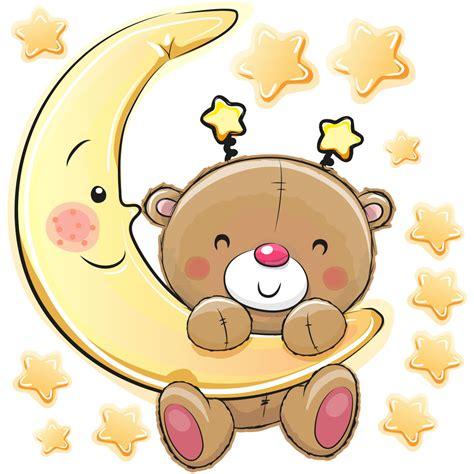 chambre b2b2 sticker ourson va dormir stickers chambre enfants