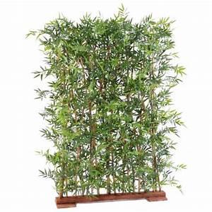 Boule De Buis Artificiel Gifi : haie artificielle bambou dense japenese plast 110 et 150 ~ Teatrodelosmanantiales.com Idées de Décoration