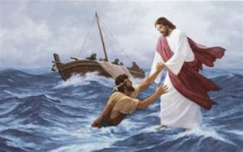 Sea Born Boat Problems by Jesus After The Resurrection Thinking Faith The