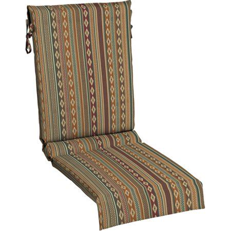 outdoor sling chair cushion southwest pattern uv treated