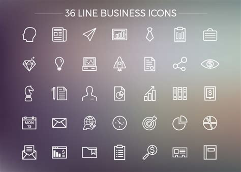 business icons pack graphberrycom