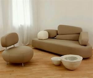 32 idees canape moderne pour le salon for Modele canapé moderne