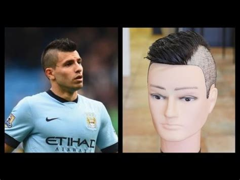 sergio aguero mens haircut tutorial thesalonguy youtube