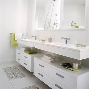 le meuble vasque de la salle d39eau photo de deco With meuble de salle d eau