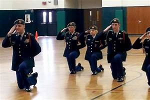 JROTC Drill Team And Color Guard Earn High Marks At IPS
