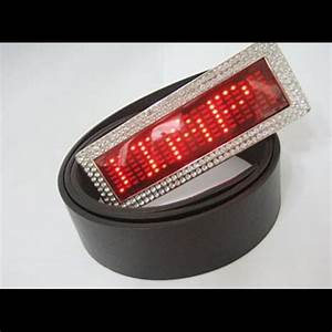 Ceinture Led Lumineuse : boucle ceinture lumineuse leds matrice 7 x 21 pts sur ~ Edinachiropracticcenter.com Idées de Décoration