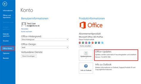 Office Version by Bitbone Ag Einschr 228 Nkungen Durch Office365