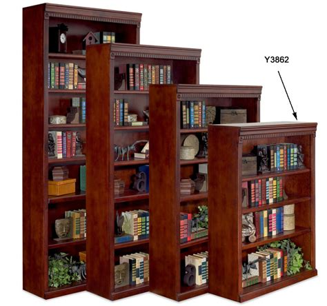 """Huntington Cherry Bookcase Collection  48"""" High Cherry"""