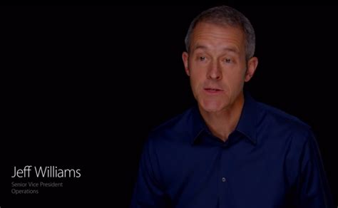 apple names jeff williams as chief operating officer