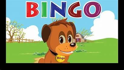 Bingo Song Dog Nursery Lyrics Cartoon Songs