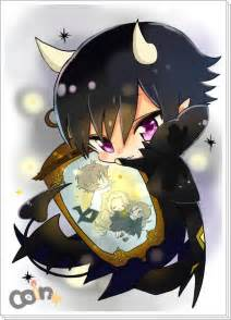 Cute Anime Chibi Demon Boy