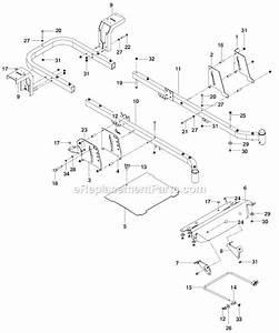 Husqvarna 46 Inch Drive Belt Diagram