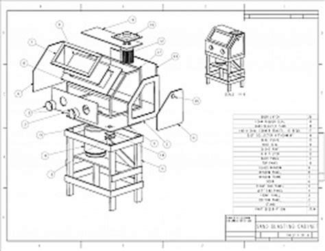 Abrasive Blast Cabinet Plans by Homemade Sand Blasting Cabinet Homemadetools Net