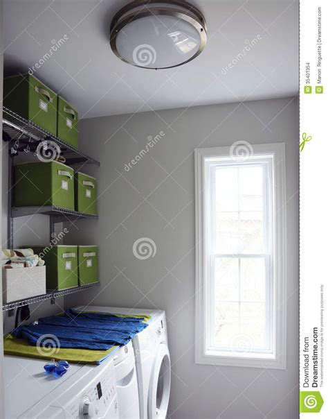 modern laundry room stock images image