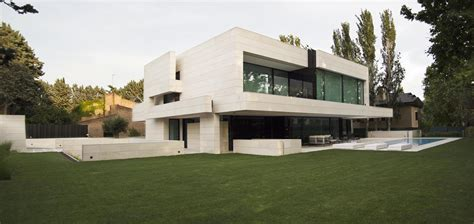 Modern House In Spain By A Cero by Park House In Madrid Spain By A Cero Sohomod