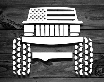 jeep cherokee american flag xj stickers etsy