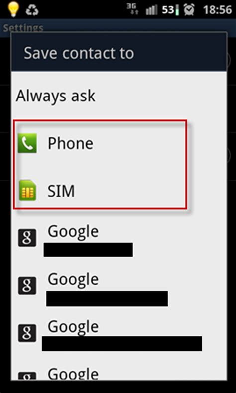 how to save contacts to sim card on iphone android auto save contacts to phone or sim card by default