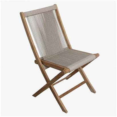 Rope Chair Folding Bedroom Weave Foldable